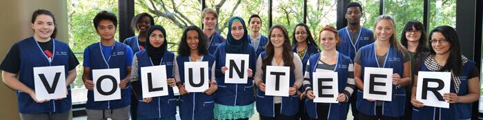Volunteers Students